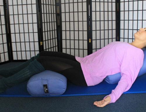 Posture of the Month: Restorative Goddess Pose