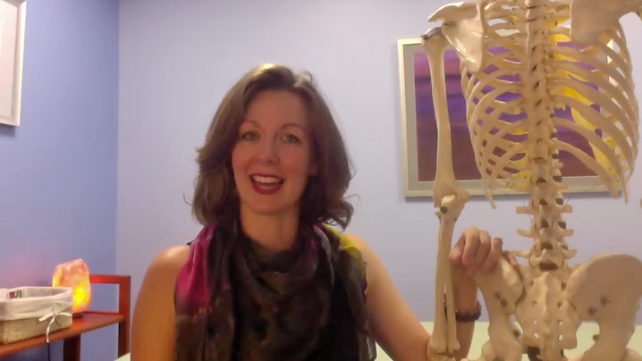 Dustienne Miller describes what a physical therapist specializing in the pelvic floor does