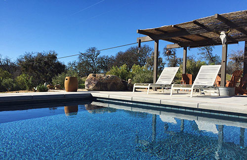 Pool at CA location for Retreat to Your Root retreat