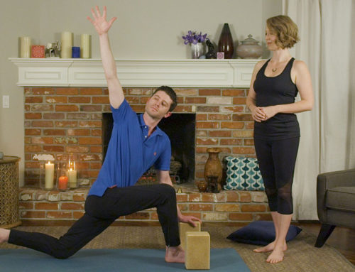 Posture of the Month: Long Lunge with a Twist