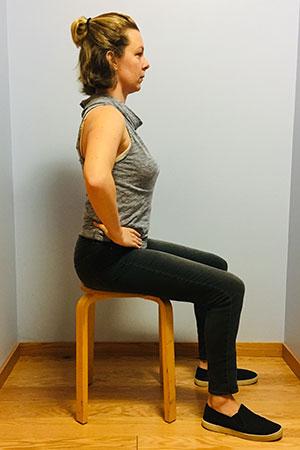 Neutral sitting