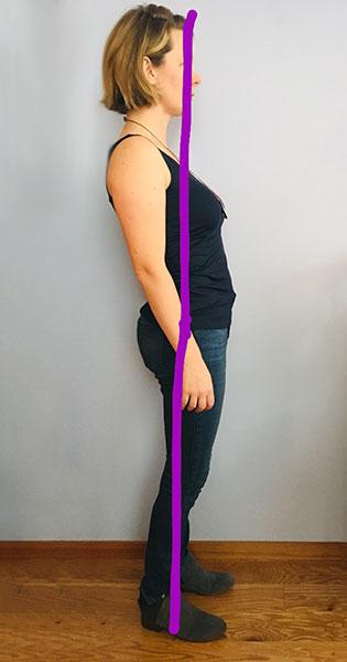 Postpartum posture