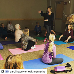 Yoga for Pelvic Pain workshop