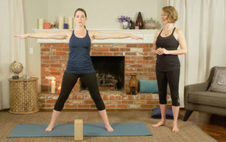 Five-pointed star yoga pose