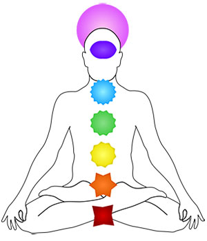 Seven system chakras