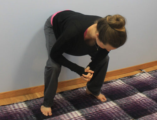 Posture of the Month: Active Hamstring Stretch